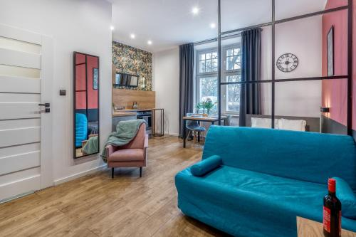 A seating area at Best4Stay Apartment