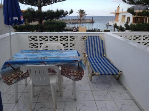 A balcony or terrace at Villa Thalia