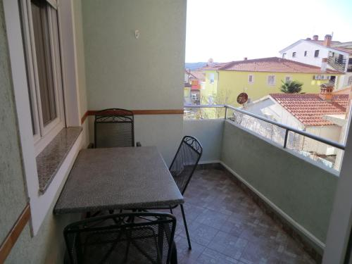 A balcony or terrace at Apartment Popović