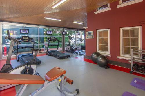 Фитнес-центр и/или тренажеры в My Home Apart