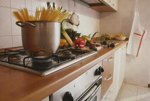 Cucina o angolo cottura di Residence Hotel Health House