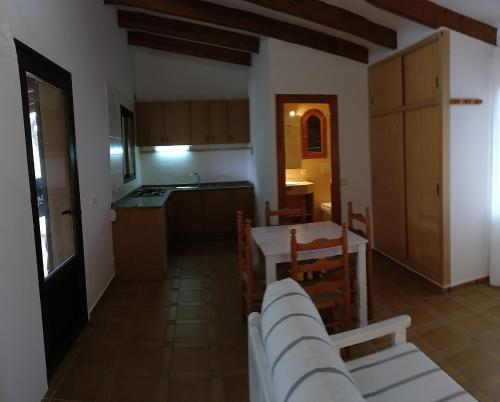 A kitchen or kitchenette at Viviendas Turísticas Vacacionales Allida