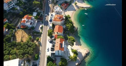 A bird's-eye view of Apartments Villa Carica
