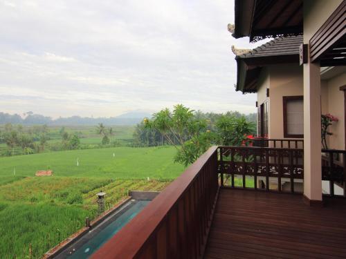 Uma varanda ou terraço em Uma Stana Villa