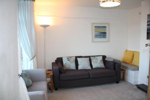 A seating area at Linton Luxury Holiday Home