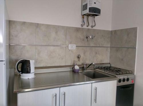 Una cocina o kitchenette en Aluminé