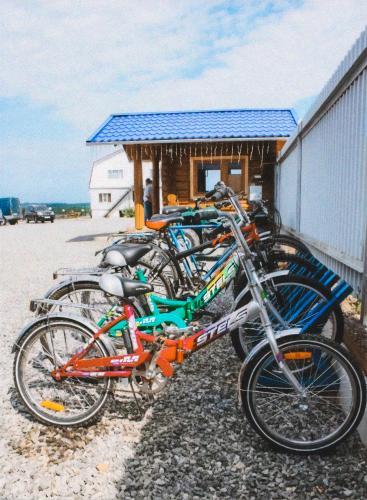 Biking at or in the surroundings of Lesnaya Gavan Hotel