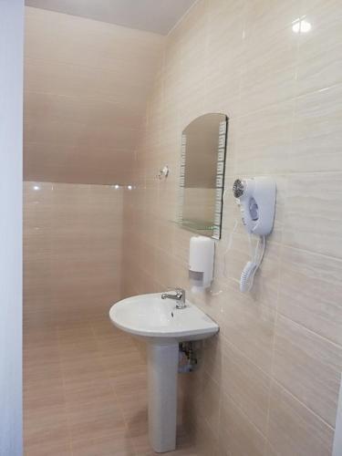 Ванная комната в Отель Рауту