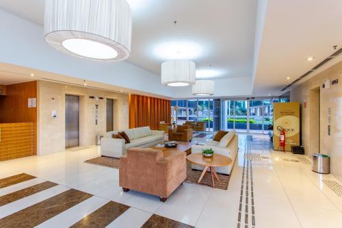 The lobby or reception area at Apartamento Vision 2
