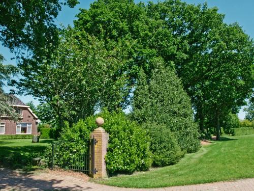 A garden outside Landgoed Wittelte
