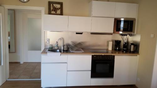 Küche/Küchenzeile in der Unterkunft Ferienhaus Moritz