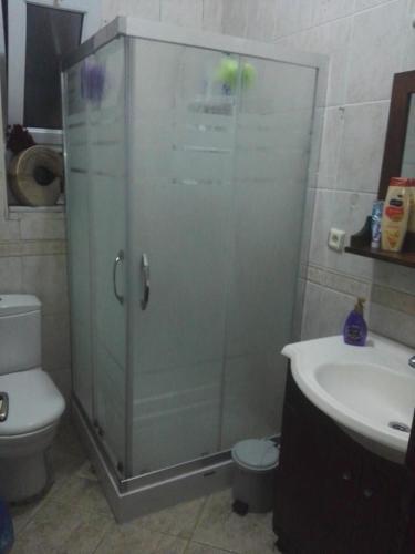 Ванная комната в Yas hostel
