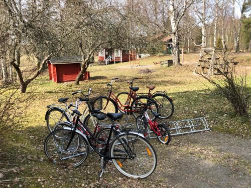 Pyöräilyä majoituspaikan Salonsaaren Lomakylä alueella tai lähistöllä