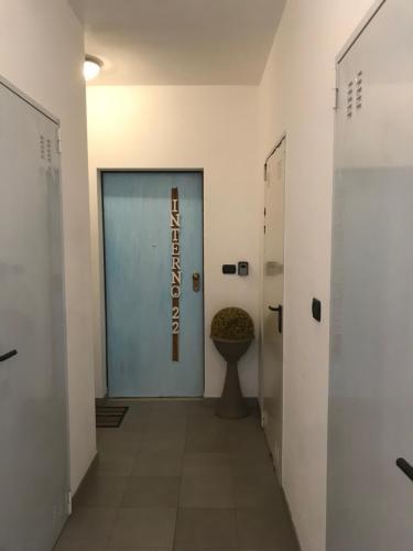 A bathroom at Ilgalletto