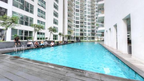 The swimming pool at or near Regalia Suites & Hotel