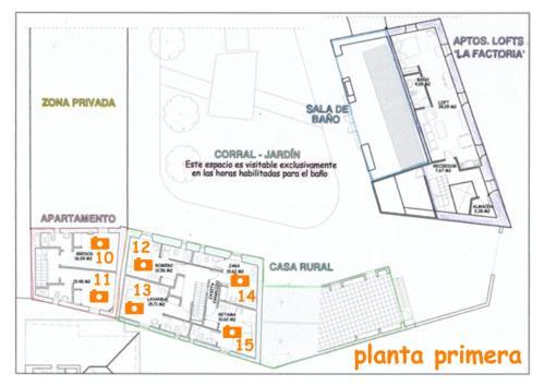 Plano de Casa Rural del Corral