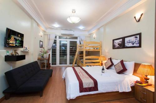Family Hotels In Hanoi Old Quarter,private Bathrom