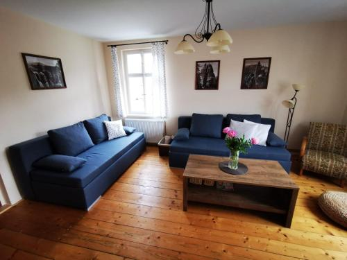 Posezení v ubytování Apartment 180