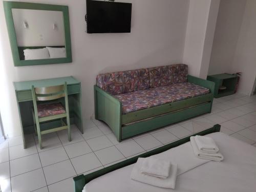 Χώρος καθιστικού στο Viglia Beach Apartments