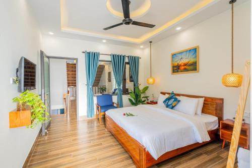 Private 3 bedroom pool house near Hoi An center