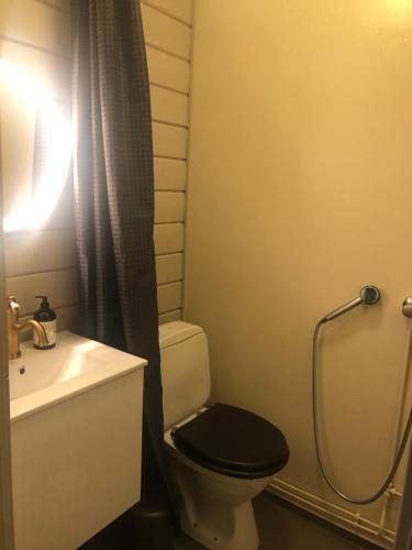 A bathroom at Niuron mökit