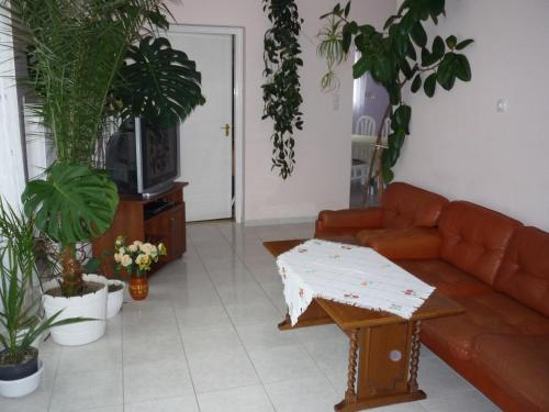 A seating area at Zsigmond Vendeghaz