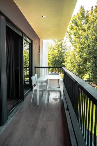 Балкон или терраса в Camyuva Beach Hotel