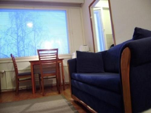 En sittgrupp på Studio Apartment Tampere