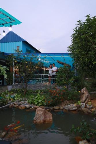 Vila Homestay Seren Sóc Sơn - Biệt thự xông xục onsen, xông hơi, bể bơi