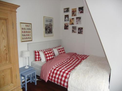 A bed or beds in a room at Villa Giulia