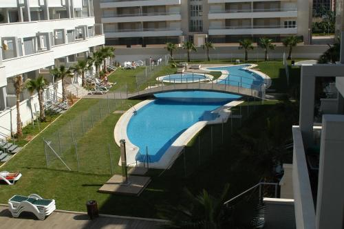A view of the pool at Apartamentos Elegance Denia or nearby