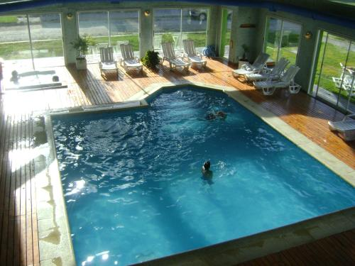 A view of the pool at Village Condo or nearby