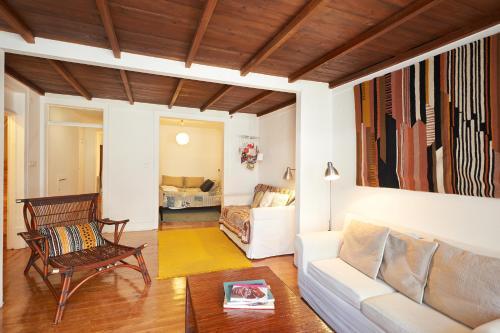 Część wypoczynkowa w obiekcie Portugal Ways Bairro Alto Apartments