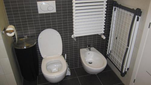 A bathroom at Central Apartment Trnava