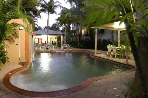 The swimming pool at or near Grosvenor in Cairns