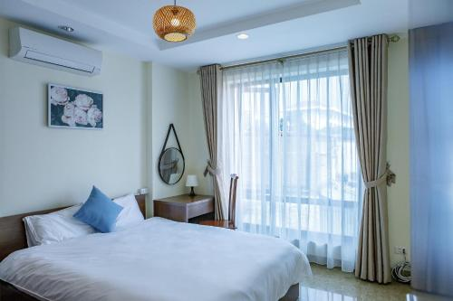 60m2 2 bed apt view city in ba dinh