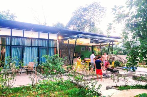 Villa 10 BaVi Padme Home trending cho nhóm, ngắm núi