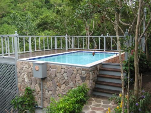 The swimming pool at or near Firefly Cottages