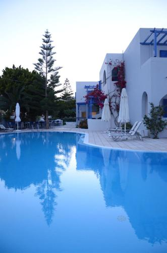 The swimming pool at or near Hippocampus Hotel