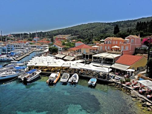 A bird's-eye view of Fiscardo Studios