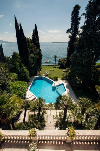 A view of the pool at Villa Vittoria or nearby
