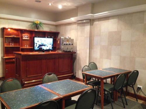 A television and/or entertainment center at Vidda y Viken