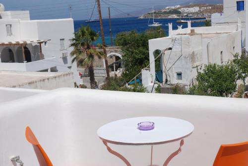 Balcone o terrazza di Pension Katerina Studios