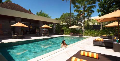 The swimming pool at or near Sun Island Boutique Villas & Spa Seminyak