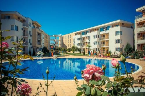 The swimming pool at or near Nessebar Fort Club Apartments