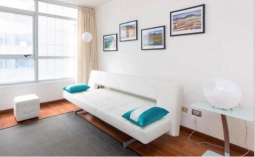 Cama o camas de una habitación en SyS Suites Nueva San Martin