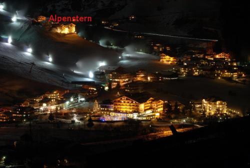 Blick auf Appartement Alpenstern aus der Vogelperspektive