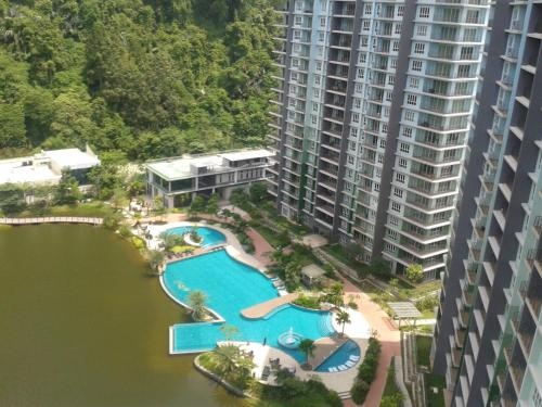 A view of the pool at Haven Lakeside or nearby