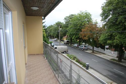 Balkón nebo terasa v ubytování Zrínyi Apartman