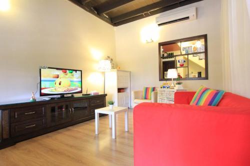 Télévision ou salle de divertissement dans l'établissement Vista Rio Melaka